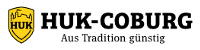 Logo der HUK-Coburg Bausparkasse